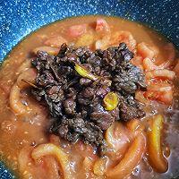 西红柿炒牛肉的做法图解5
