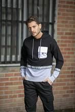 Erkek Kapüşonlu Cepli Sweatshirt çoklu Renk Yazı Detaylı 2021 Yeni Sezon Sokak Tarzı Şık Tasarım Kış Sonbahar Yaz Kullanım