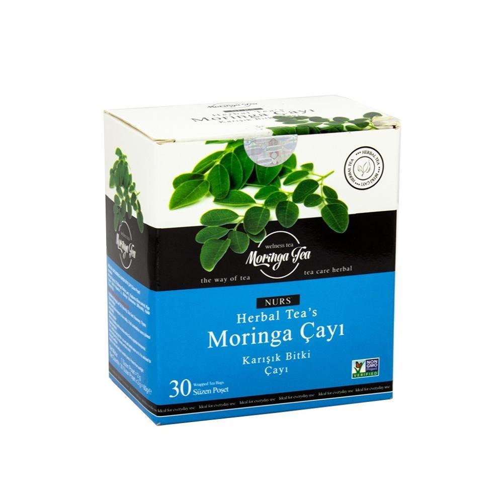 Moringa  Life Slim Tea Mixed Herbal Original Weight Loss Seeds 30pcs Slimming Products Pure Naturel Organic Oil Blocker Thin