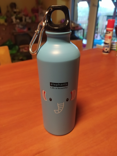 500ml Cartoon Animal Aluminum Alloy Kids Cycling Bike Water Bottle  Outdoor Travel Sports Camping Hiking Water Bottles|Water Bottles|   - AliExpress