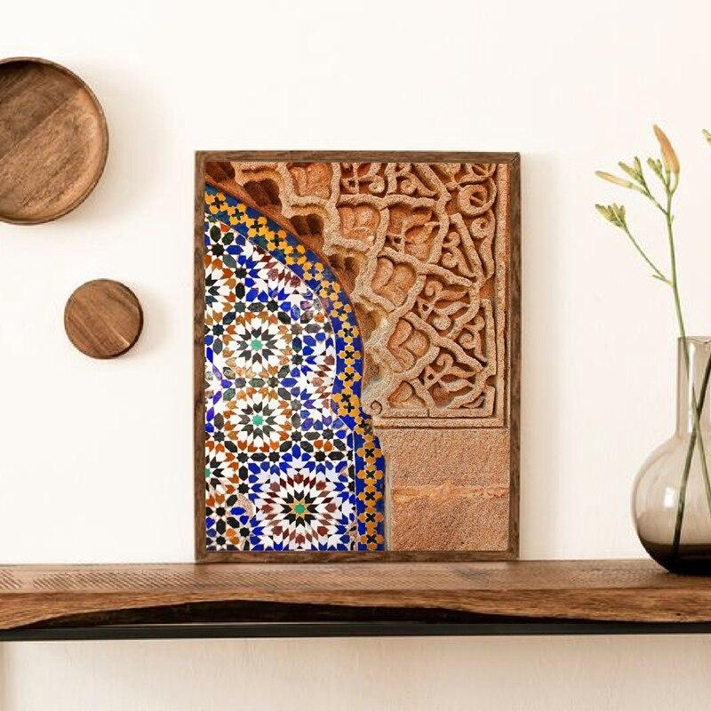 Moroccan Wall Art Canvas Print