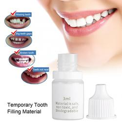 Temporary Tooth Repair Fix Broken Teeth Dental Restoration Teeth Filling Material Dental Repairing Tool for Halloween Accessory