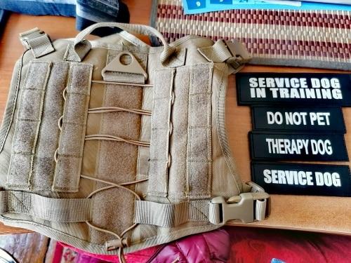 MEGA Tactical Dog Harness | Tactical Dog Vest | Military Dog Harnes photo review