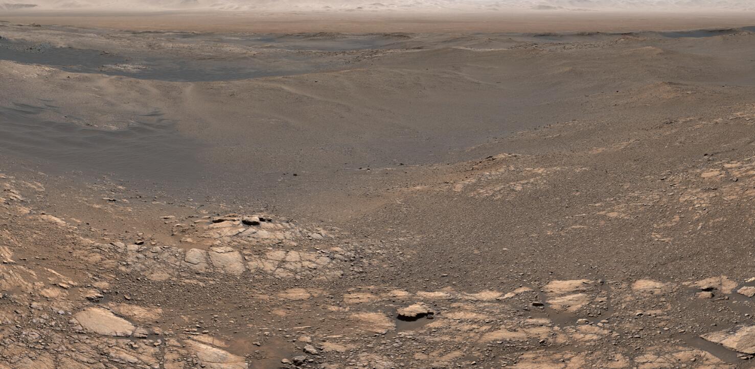 美国宇航局NASA火星18亿像素图