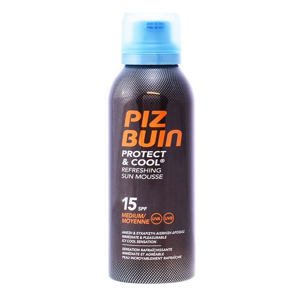 Sun Block Schützen & Cool Piz Buin Spf 15 (150 ml)