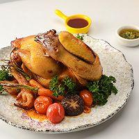 年菜 | 美极烤全鸡的做法图解4