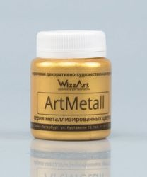 Pintura Artmetall, oro 583 80 ml Wizzart