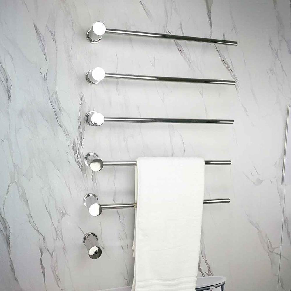 Bathroom Electric Towel Rack 4+1 Bars Latest Technology