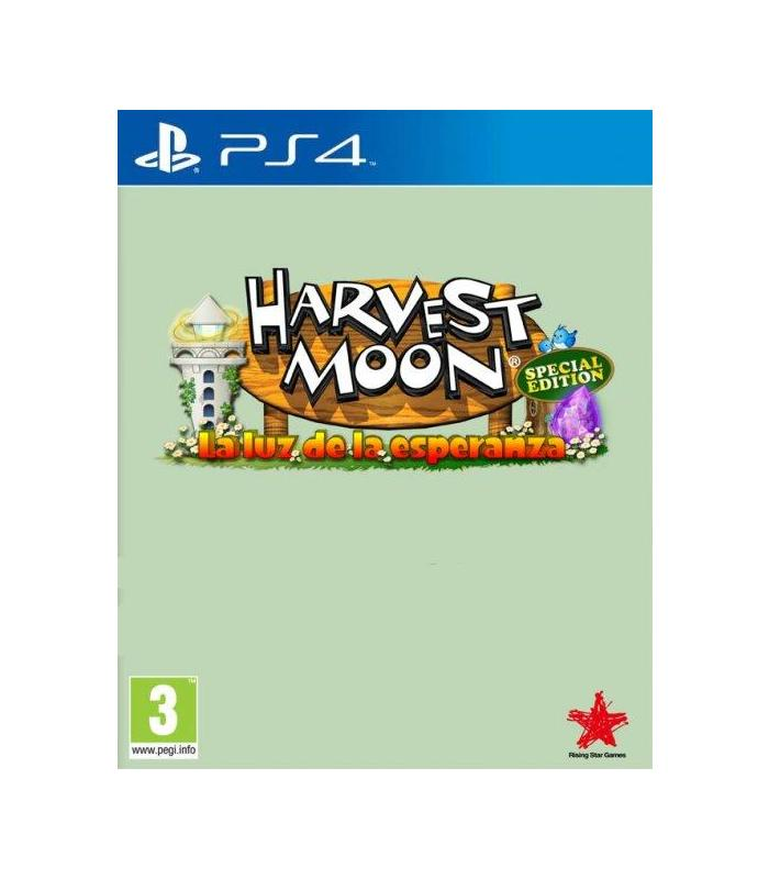 Harvest Moon: the Light of Hope Special Edition Ps4 Playstation 4 Games Koch Mean S.L.U Strategy Age 3 + image