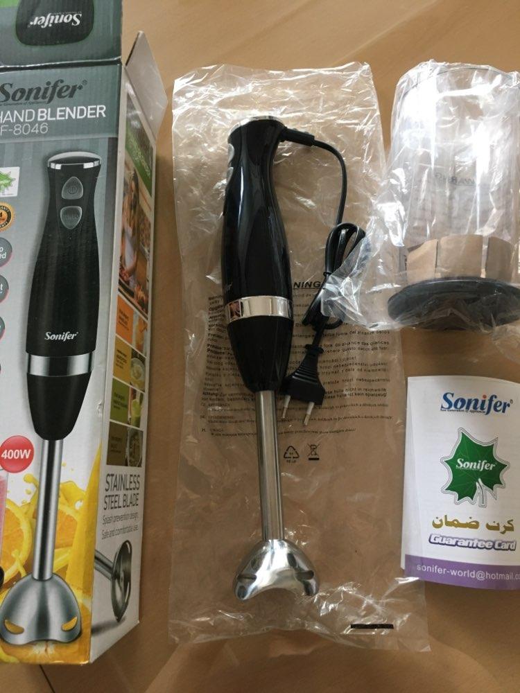 400W Colorful Blender 2 Speeds Electric Food Mixer Kitchen Detachable Hand Blender Egg Beater Vegetable Stand Blend 220V Sonifer Blenders    - AliExpress