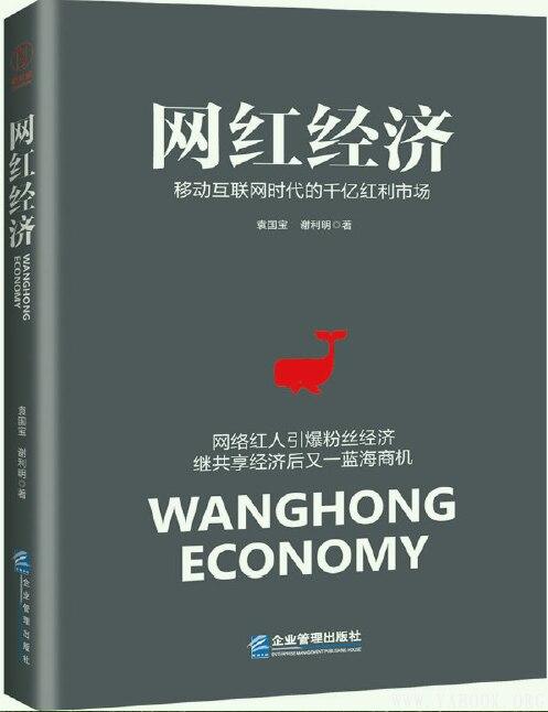 《网红经济:移动互联网时代的千亿红利市场》封面图片
