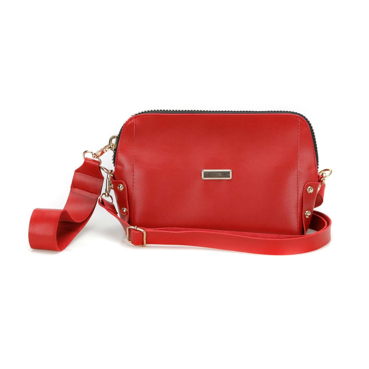 FLO WDRN1201 Red Women Messenger Bag BUTIGO