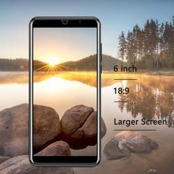 XGODY P30 смартфон 3G 6 дюйм18: 9 Android 9,0 2 Гб ОЗУ 16 Гб ПЗУ MTK6580 четырехъядерный двойной Sim МП камера 2800 мАч GPS WiFi телефон