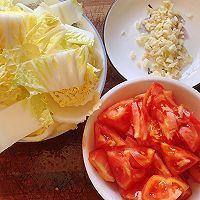 ㊙️低脂低卡好吃不胖,酸爽开胃~茄汁娃娃菜的做法图解1