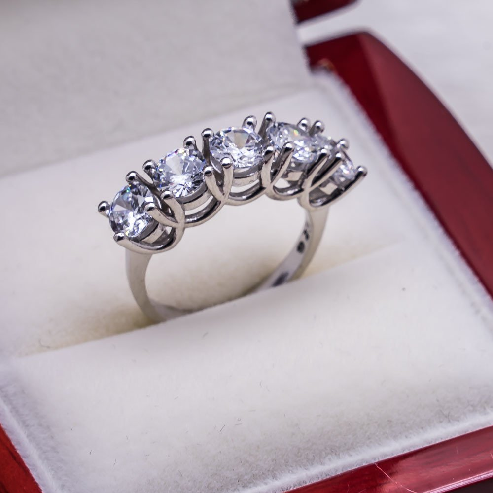 925 sterling Silver Dibs Lady Ring Model 20()
