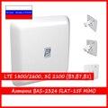 Антенна 4G Интернет антенна РЭМО FLAT-15F MIMO (Flat15F mimo, 15mf, FULLBAND, KP15F)
