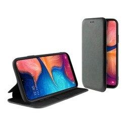 Folio etui na telefon komórkowy Samsung Galaxy A20e KSIX stojące czarne| |   -