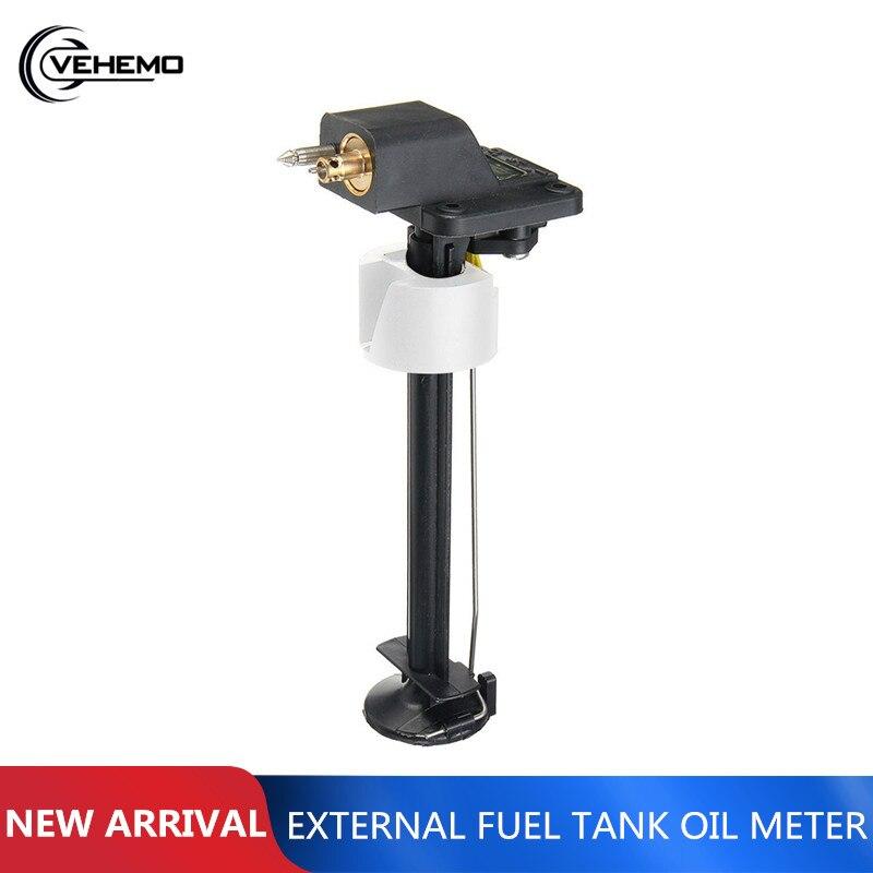Universal Outboard Gauge Meter Assy Tank Motor Fuel 24L Plastic Red Marine External Boat Motor Gauge Meter Assy For Yamaha
