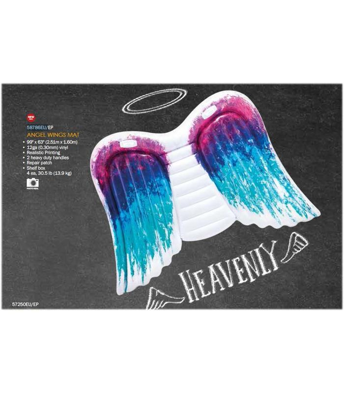 Mat Angel Wings 251x160 Cm Toy Store Articles Created Handbook
