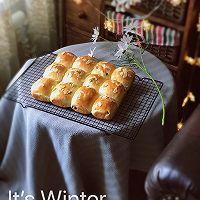 松软有嚼劲的波兰种提子餐包的做法图解10