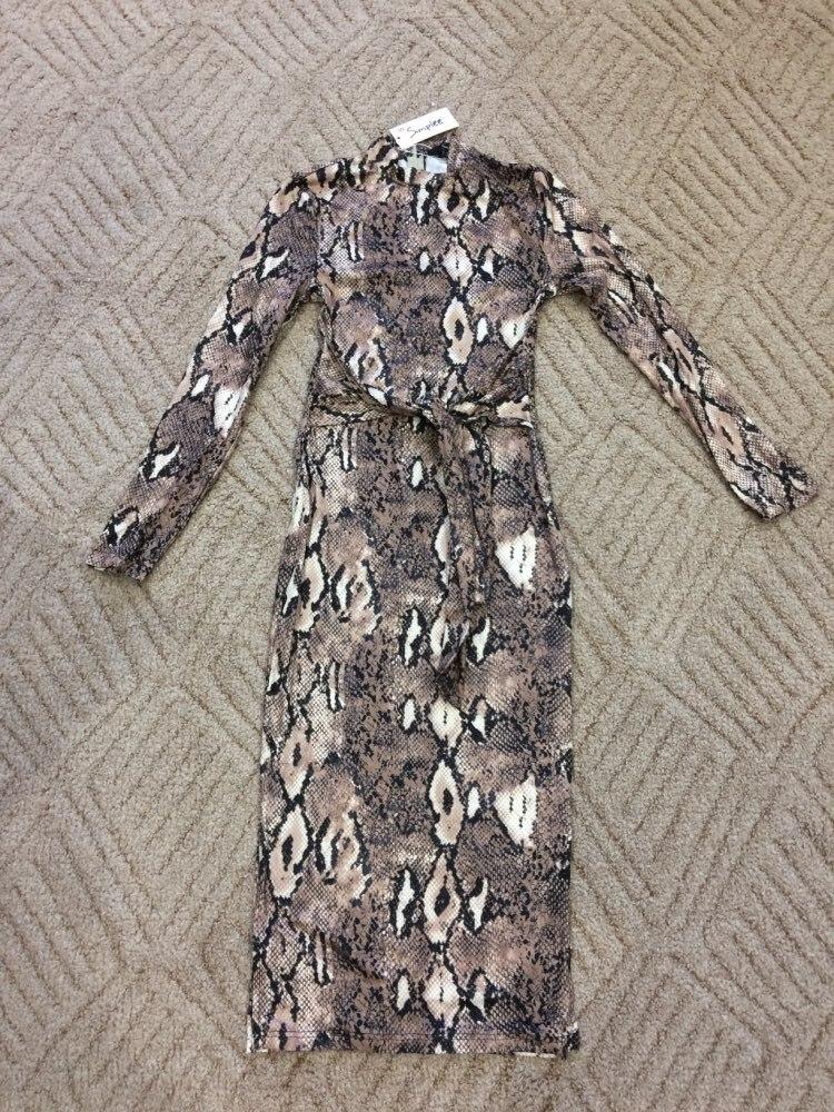 Sexy Leopard Print Women Long Dresss  Autumn Long Sleeve Sashes Bodycon Stretch Dresses Elegant Party Female Vesitidos photo review