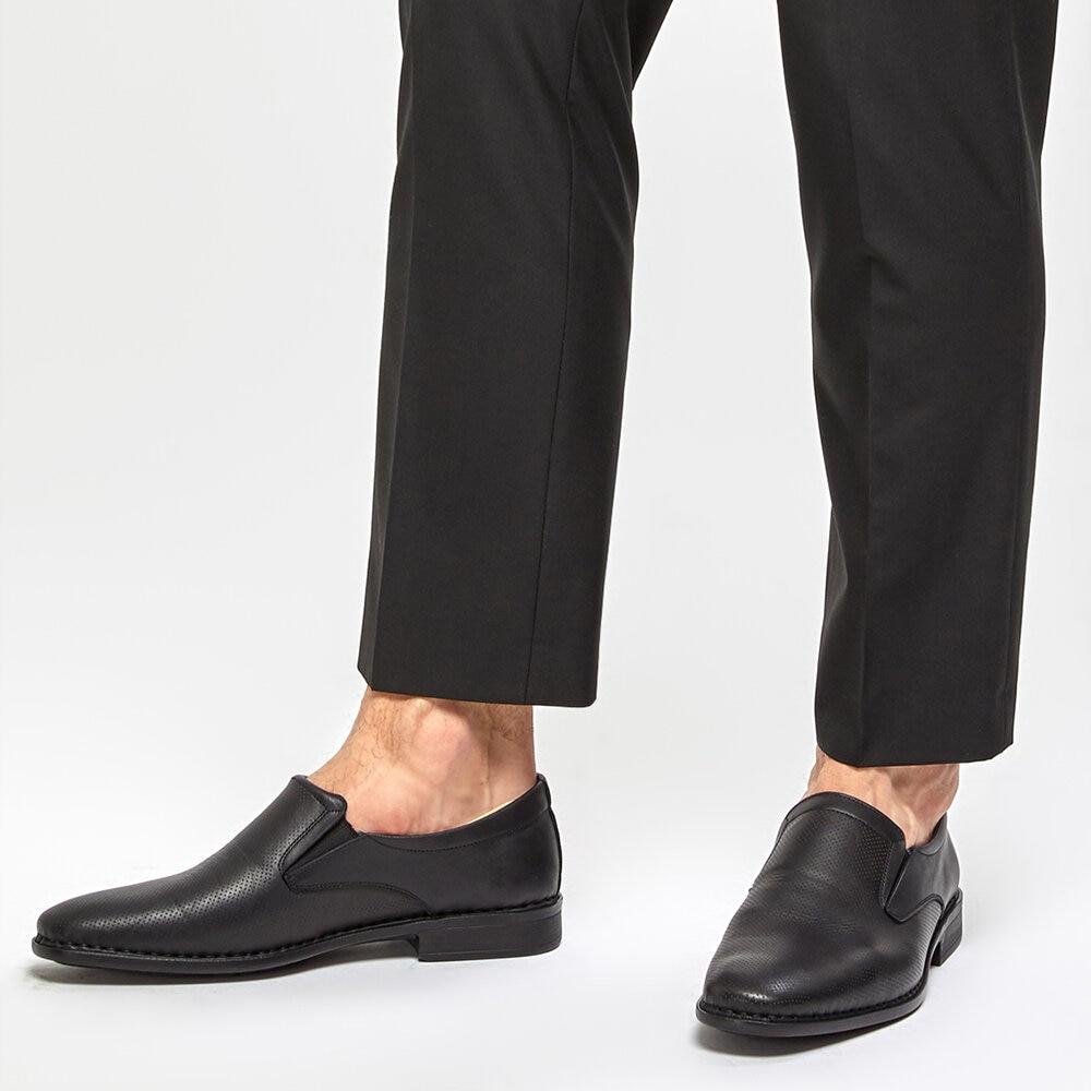 FLO 91. 100563.M Black Men 'S Classic Shoes Polaris 5 Point
