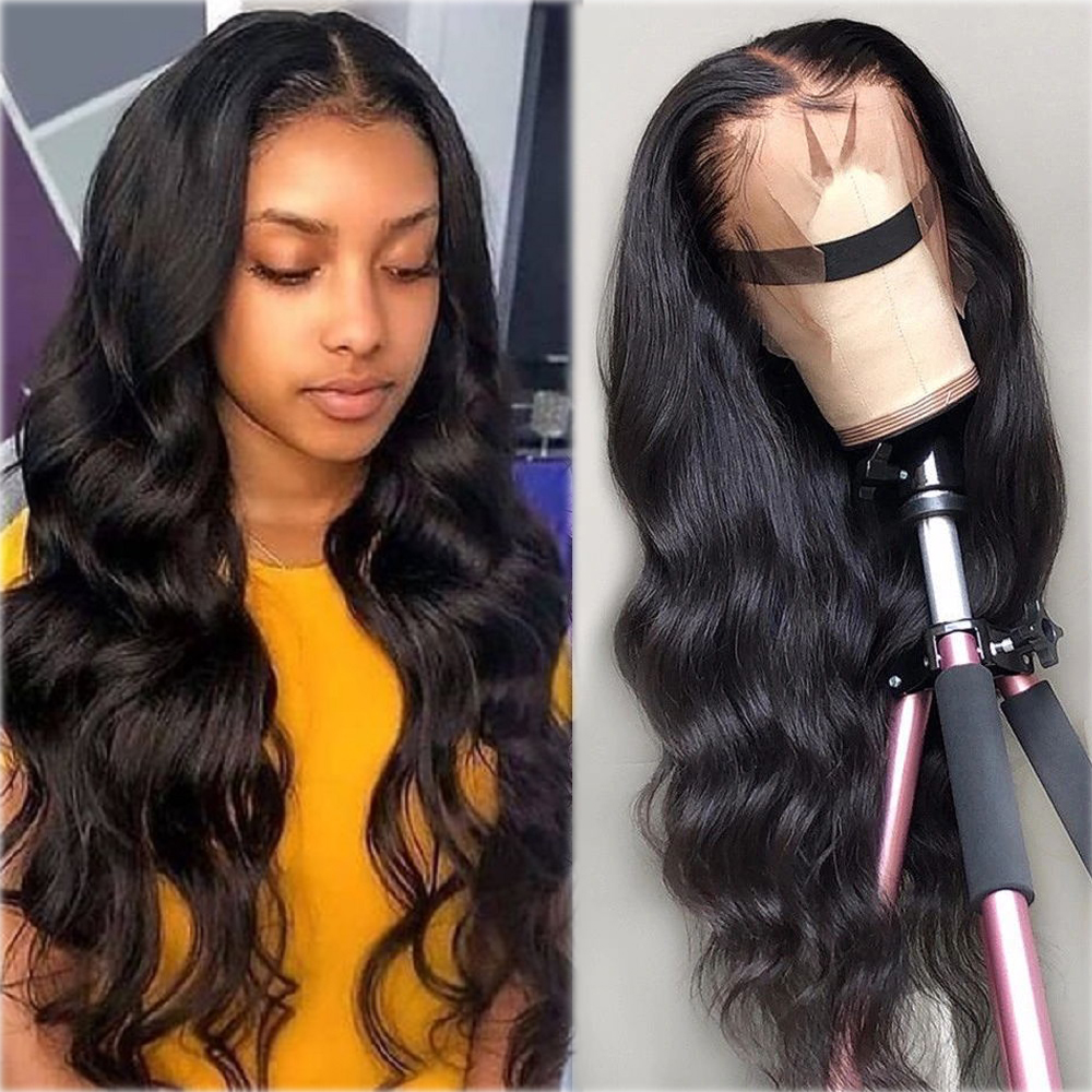 13x4 Lace Frontal Human Hair Wigs Brazilian Body Wave Lace Wig With Baby Hair Glueless Beaudiva Remy Human Hair Lace Wigs