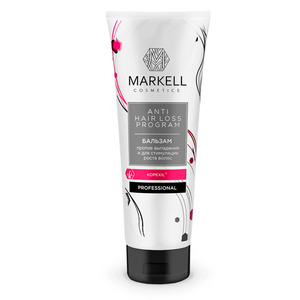 Markell professional balm against loss and for hair growth, 250 ml Hair Growth Essence Hair Loss Dense Hair Fast Hair Growth Oil Grow Restoration Growing Serum anti hair loss conditioner