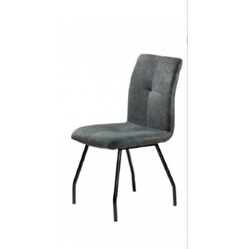 Chair Theo metallic structure black