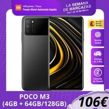 POCO M3 (ROM 64 go/128 go avec 4 go de RAM, Qualcomm®Snapdragon™662, Android, Nuevo) [Teléfono Móvil Versión Global para España]