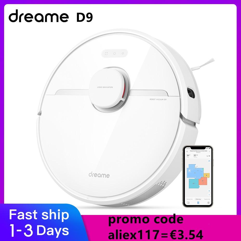 Dreame D9 Roboter-staubsauger für Home 2-in-1 Mopp 3000Pa Starken Sog APP Control vakuum reiniger mopp Sauger Smart Home