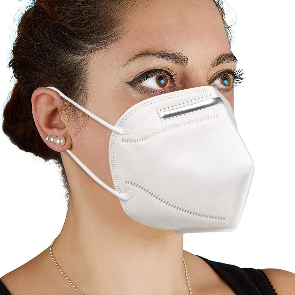 10/5Pcs Safety Protective Adult Mouth Mask Nonwoven Dust Mask Respirator Mouth Mask Resists 95% Of Bacteria