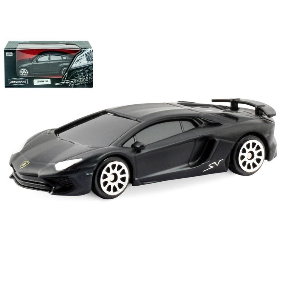 Machine Autogrand Lamborghini Aventador LP 750-4 SuperVeloce Black Edition 3