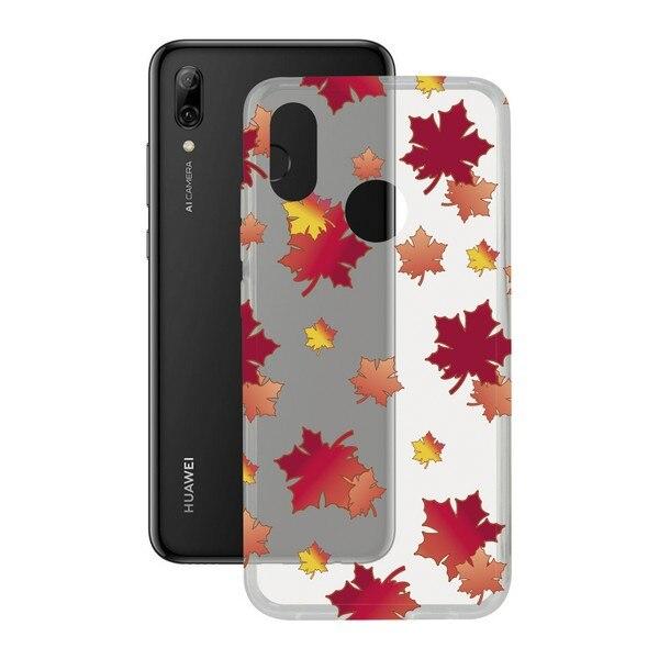 Mobil kapak Huawei P akıllı 2019 esnek sonbahar TPU title=