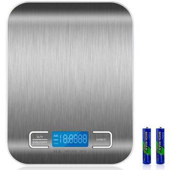 Balanza de Cocina eléctrica de precisión, Peso Digital, 1G-5KG, 5000 gr