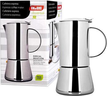IBILI-620304-COFFEE EXPRESS ESSENTIAL INOX 4 CUPS