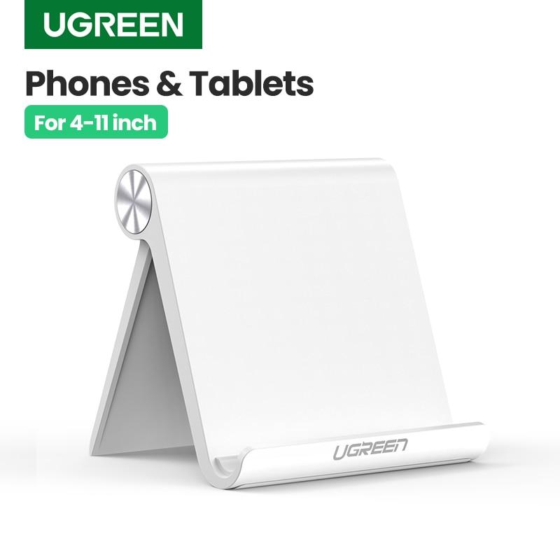 Ugreen Portable Mobile Phone Holder Stand Smartphone Support Tablet Stand For Samsung S9 Adjustable Desk CellPhone Holder Stand