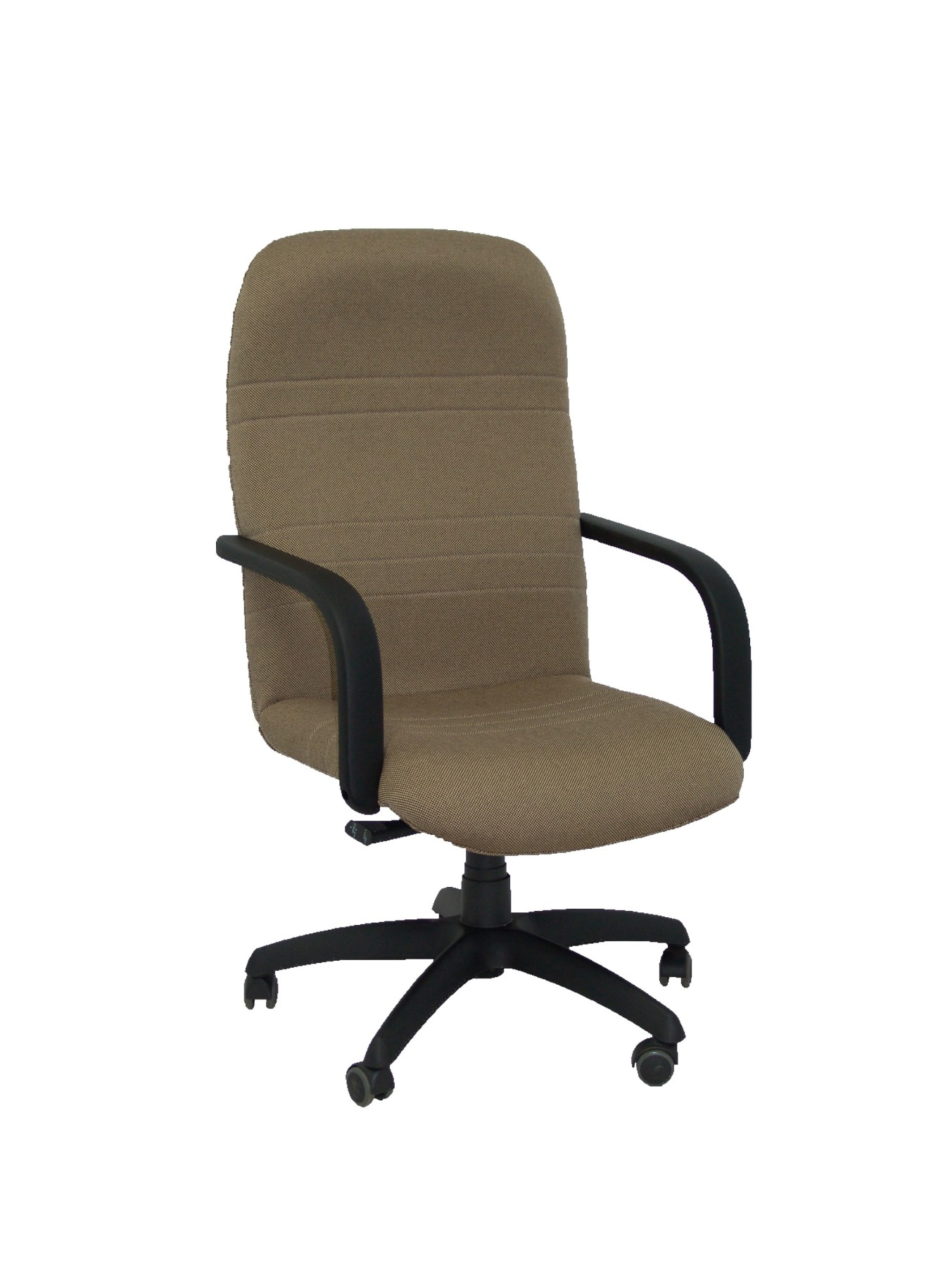Armchair Ergonomic Steering With Tilting House Mechanism And Dimmable In High Altitude-up Seat And Backstop Upholstered In Tejid