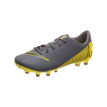Children's Multi-stud Football Boots Nike JR Vapor 12 Club Grey