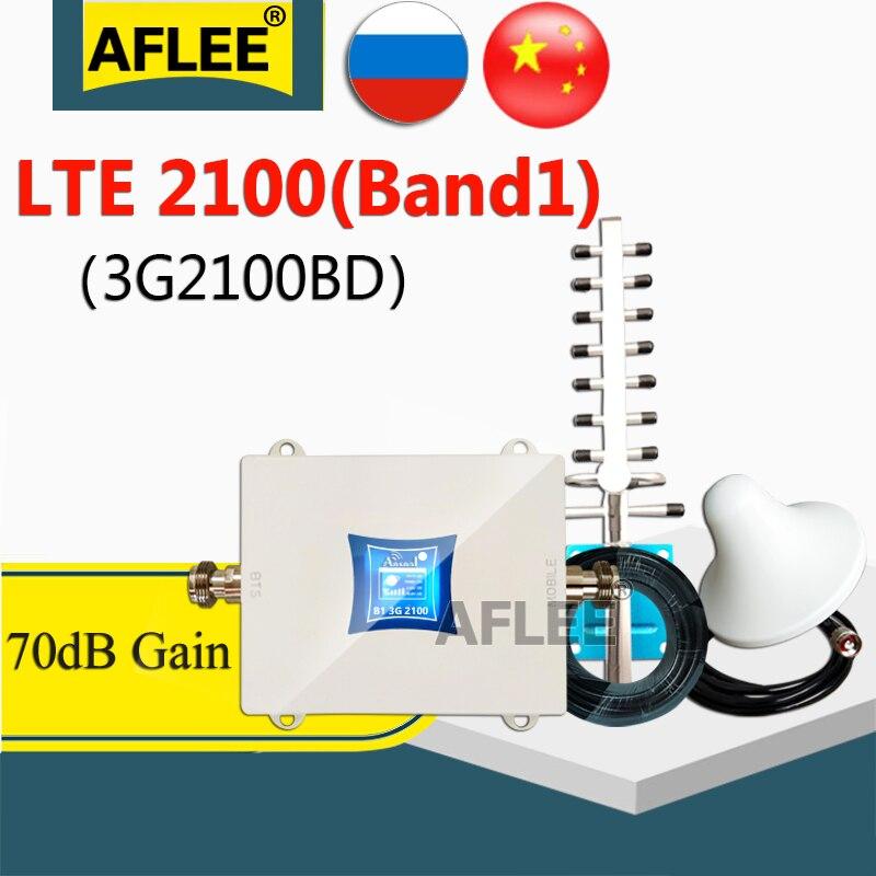 Sıcak!! 3G amplifikatör WCDMA 2100 3g sinyal tekrarlayıcı LTE 2100Mhz 3g 4g hücresel amplifikatör UMTS 2100mhz 3G cep telefon sinyal tekrarlayıcı