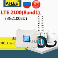 Hot!! Amplificateur de Signal 3G/4g/LTE WCDMA 2100, UMTS 2100Mhz, répéteur pour réseau de téléphonie mobile