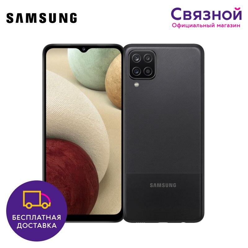 Смартфон Samsung Galaxy A12 32GB [ЕАС, Новый, Доставка от 2 дней, Официальная гарантия, Связной] Смартфоны      АлиЭкспресс