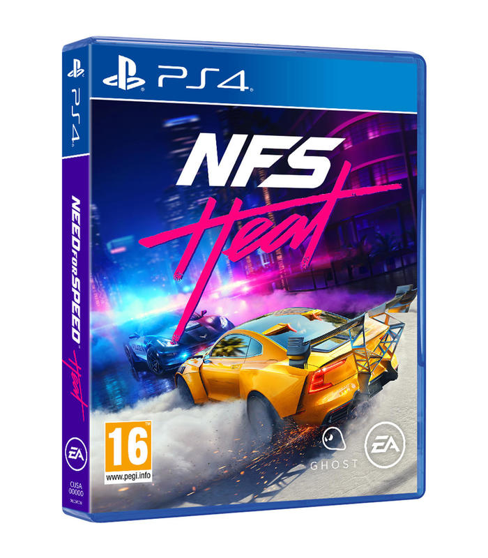 Need For Speed Heat Ps4 Playstation 4 Games Electronic Arts Software S.L. Age 16 + image