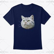 «Не бегайте! Стандартная футболка унисекс в виде кошки