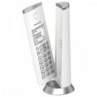 Telefone sem fio panasonic KX-TGK210SPW dect branco