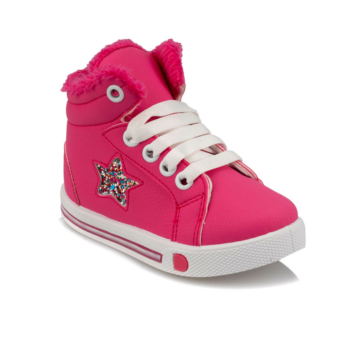 FLO 92.510832.B Fuchsia Female Child Sneaker Shoes Polaris