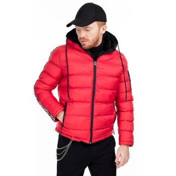 Pique Slim Fit Hooded Coats MALE COATS 497LUNA