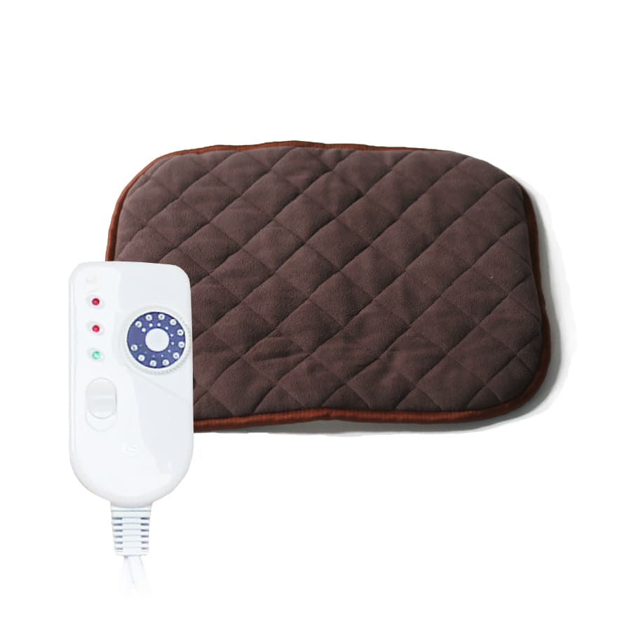 Electric hot water bottle ecosapiens flisa 40x50, 9 modes, detachable remote, автоотключение, home heater