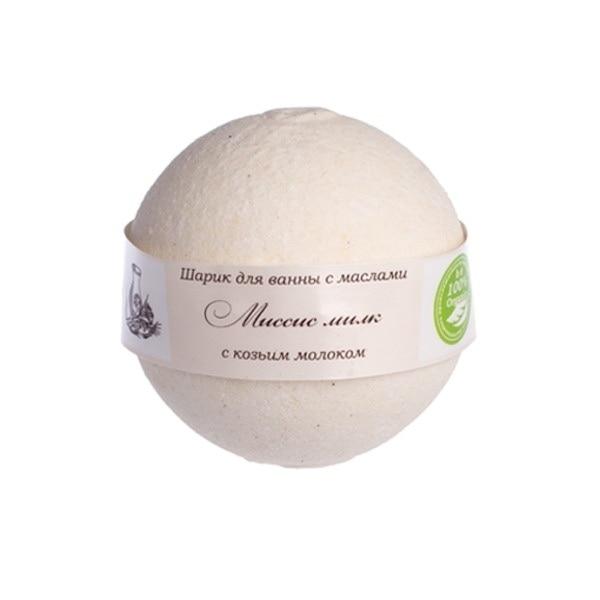 Savonry bath ball with oils Mrs. milk (goat milk)