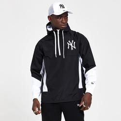 New Era-Windbreakers New York Yankees jacket black and white